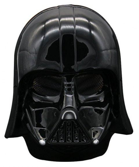 Halloween Party Mask Adults Theme Cosplay Fashion Decoration - JET BLACK 25*20CM