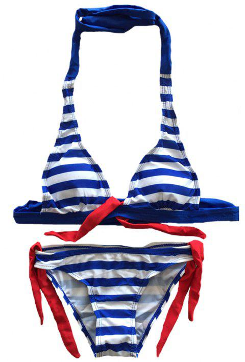 SleeWIM Sex Appeal Imprimé Stripe Fission Maillot De Bain - multicolor B XL