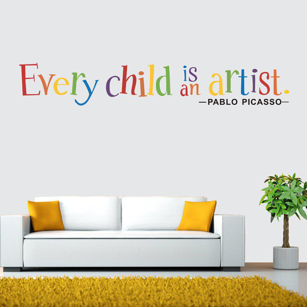 Inspirational Motto Pvc Wall Sticker For Home Decoration Removable Decals