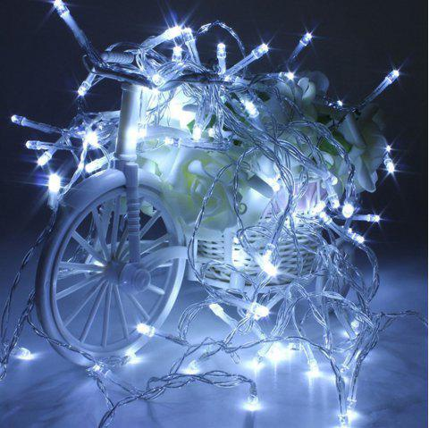 Christmas Led Starry Lights - WHITE 10 LIGHTS WHITE LIGHT EFFECT