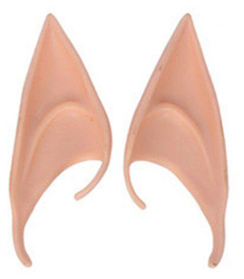5 Double Halloween Cos Props Avatar Fairy False Ears - ROSE