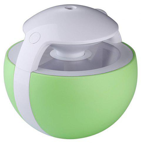 Portable Air Humidifier with Night Light for Travel Desk Throat Nose - GREEN