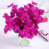Silk Artificial Lantern Flower 3 Heads Wedding Christmas Decorative Home - BRIGHT NEON PINK