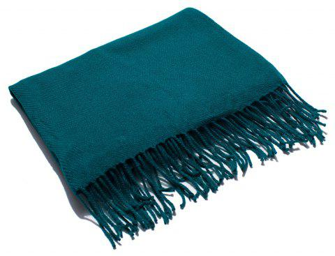 Soft and Comfortable Women's Single Scarf - BLUE IVY