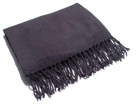 Soft and Comfortable Women's Single Scarf - CARBON GRAY