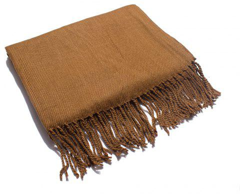 Soft and Comfortable Women's Single Scarf - CAMEL BROWN