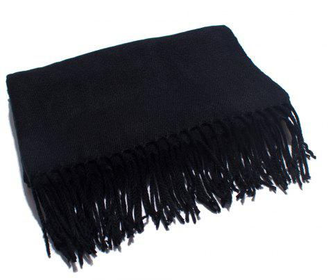 Soft and Comfortable Women's Single Scarf - BLACK