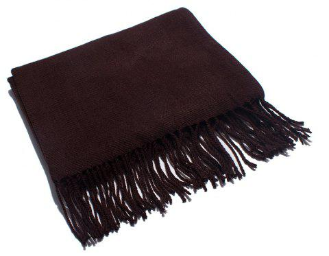 Soft and Comfortable Women's Single Scarf - EGGPLANT