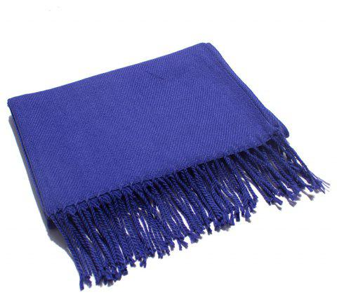 Soft and Comfortable Women's Single Scarf - BLUE