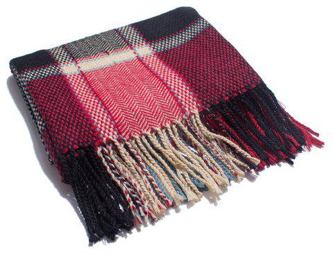 A Variety of Color Lattice Scarves for Lovers - multicolor C