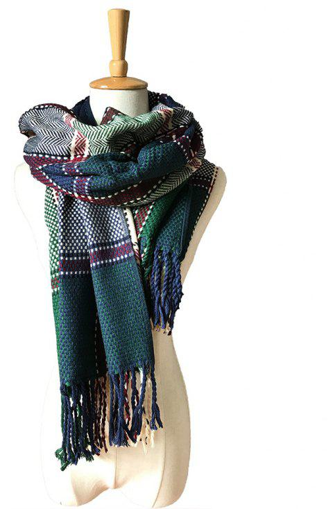 A Variety of Color Lattice Scarves for Lovers - multicolor K