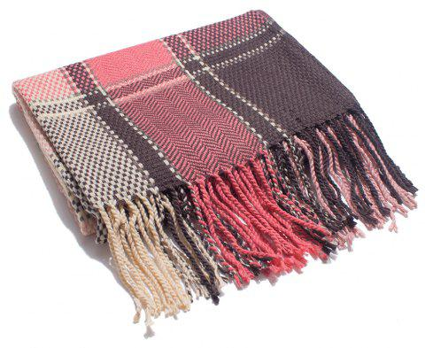 A Variety of Color Lattice Scarves for Lovers - multicolor G
