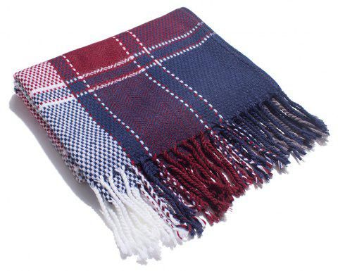 A Variety of Color Lattice Scarves for Lovers - multicolor J