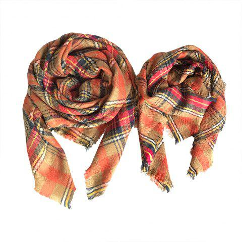 The Soft Parent-Child Scarf - BROWN SUGAR