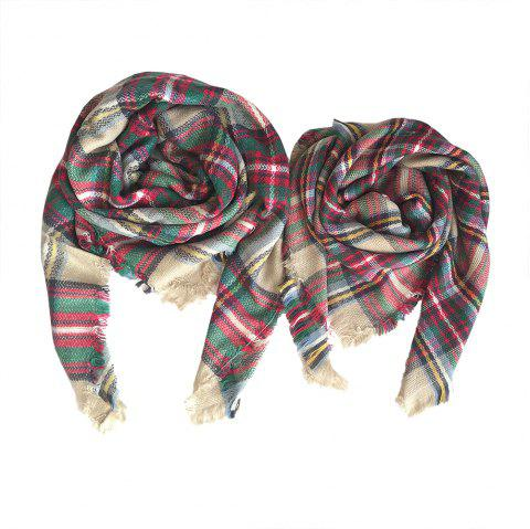 The Soft Parent-Child Scarf - CAMEL BROWN