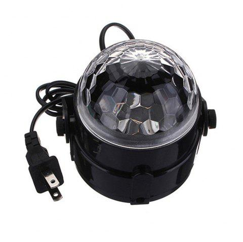 Mini DJ Club Disco KTV Barre de fête RVB LED Ball Projecteur Laser Stage Light - Noir