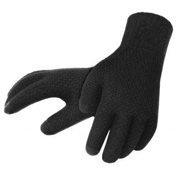 Winter Men Knitted Gloves Touch Screen High Quality Warm Cashmere