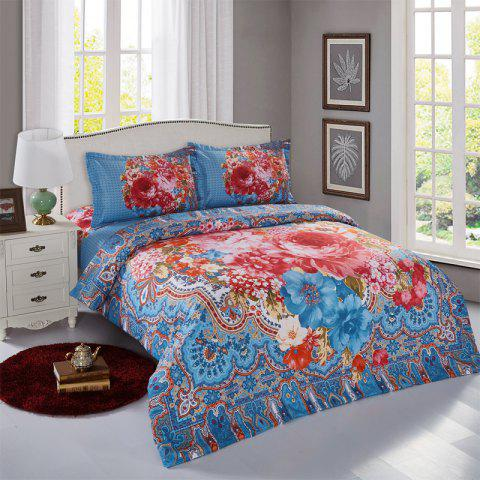 Simple Bohemian Style Single / Double 2.0m Bedding Set - multicolor G 2.0M