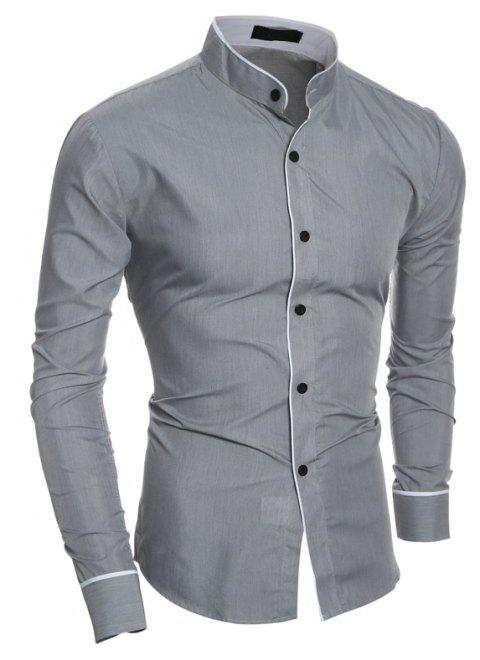Stand Collar Shirts Designs : Latest shirt designs for mens somurich