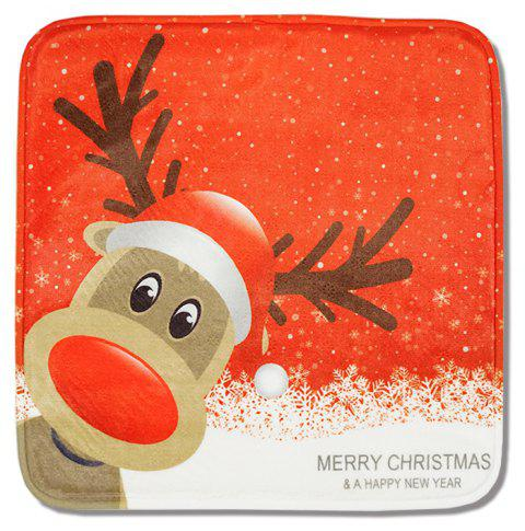 Christmas Thickened Memory Cotton Cushion - ROSSO RED 1PC