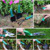 10PCS Garden Tools Case Anti-Rust Lightweight for Clipping Weeding Digging - GREEN ONION