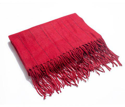 Soft and Striped Scarves for Ladies in Autumn and Winter - RED
