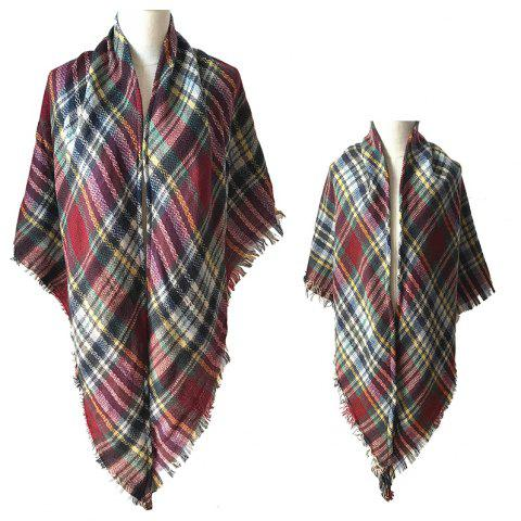 The Comfortable Soft Parent-Child Scarf - RED