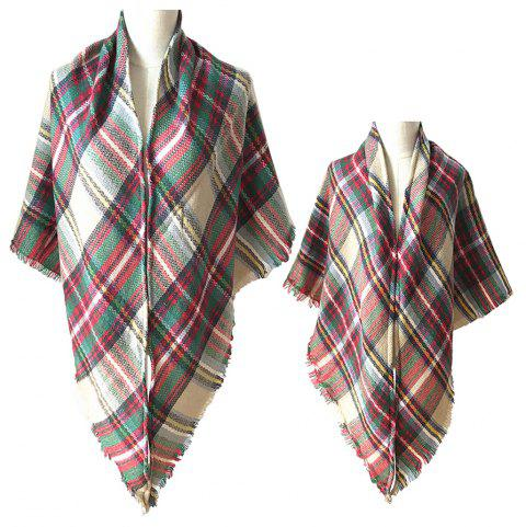 The Comfortable Soft Parent-Child Scarf - CAMEL BROWN