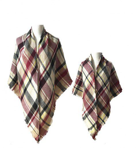 The Comfortable Soft Parent-Child Scarf - VALENTINE RED