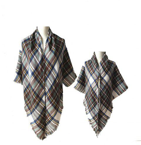 The Comfortable Soft Parent-Child Scarf - WHITE
