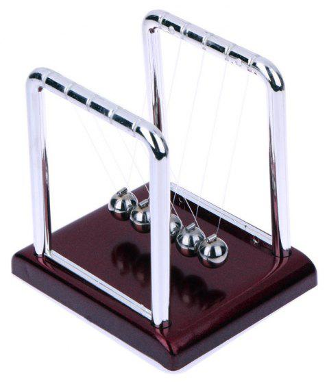 Balance Ball Cradle Type Office Pressure Relief Toy - RED WINE