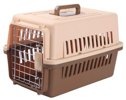 Fashion Air Pet Carrier for Medium Dogs - COFFEE HKX-0002