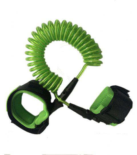 Anti Loss Belt with Traction Rope Child Anti Loss Bracelet - GREEN ONION 1PC