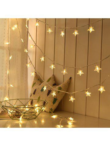 1m3m6m led star fairy garland string lights novelty for new year christmas