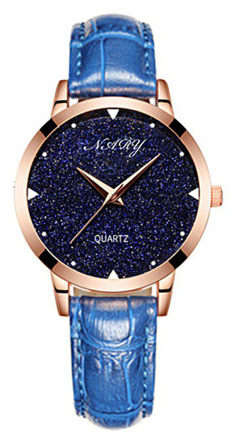 NARY/Nairy  Star Watch Women's Watch - BLUE