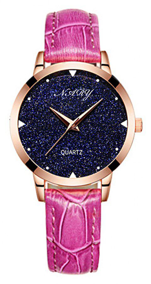 NARY/Nairy  Star Watch Women's Watch - ROSE RED