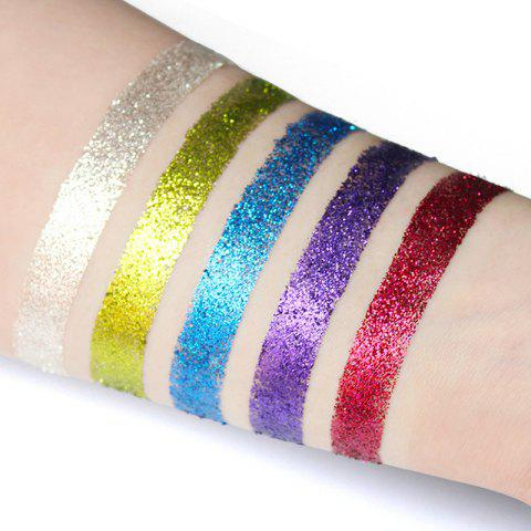 IMAGIC5 5 Colors Eye Shadow Flashing Powder Eye Shadow Plate - 001