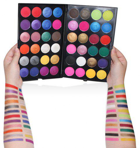 IMagic48 Colors Eye Shadow Pearl Matte and Multicolored Eye Shadow - multicolor A