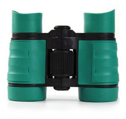 4X30 Plastic Children Binoculars Telescope Outdoor Game Toys - DARK TURQUOISE