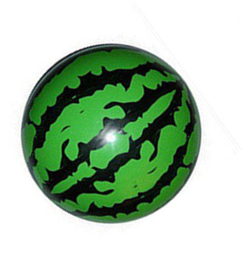 Watermelon Fitness Ball Inflatable Toy - CLOVER GREEN