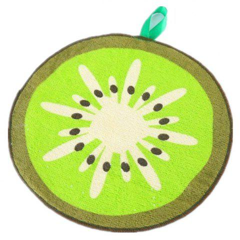 Peut accrocher Type Cartoon Fruit Design Wipe Serviette Cuisine Absorbant Chiffon - multicolor C