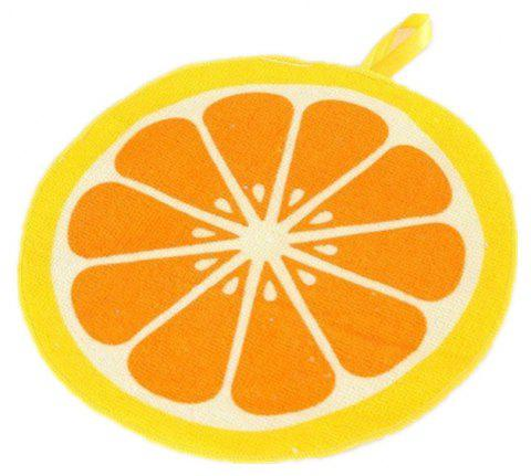 Can Hang Type Cartoon Fruit Design Wipe Towel Kitchen Absorbent Dish Cloth - multicolor B