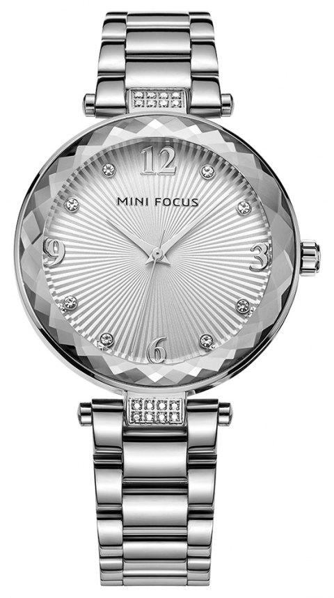 MINI FOCUS Ladies Top Brand Luxury Quartz Women Fashion Watch Diamond - multicolor B