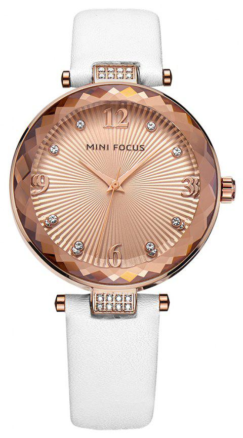 MINI FOCUS Ladies Top Brand Luxury Quartz Women Fashion Watch Diamond - multicolor D