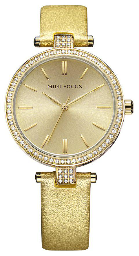 MINI FOCUS Top Fashion Ladies Dress Quartz Famous Brand Women Watches Clock - multicolor F