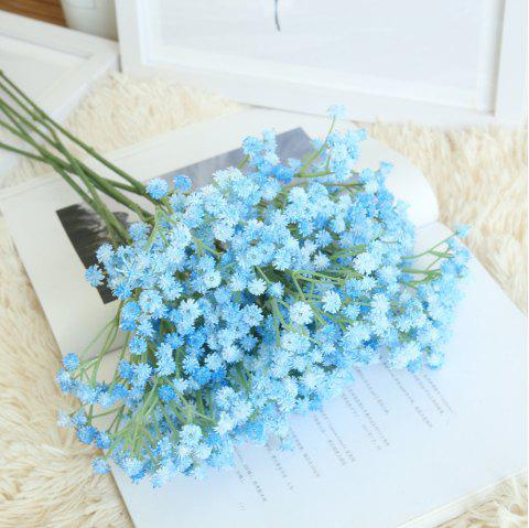 Gypsophila Artificial Flower Rustic Home Decorations for Wedding Party - DAY SKY BLUE