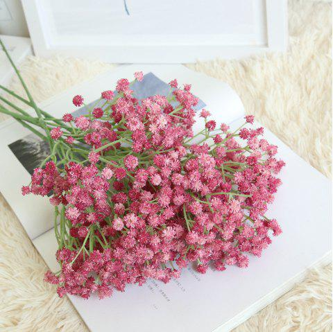 Gypsophila Artificial Flower Rustic Home Decorations for Wedding Party - ROSE RED
