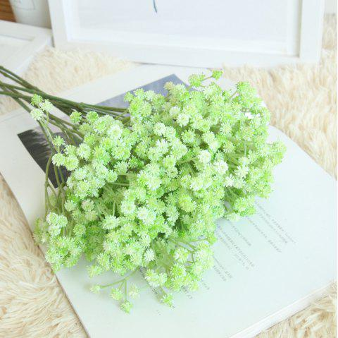 Gypsophila Artificial Flower Rustic Home Decorations for Wedding Party - MINT GREEN