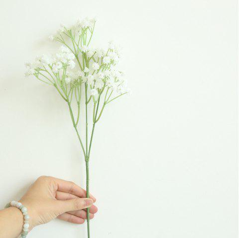 Gypsophila Artificial Flower Rustic Home Decorations for Wedding Party - WHITE
