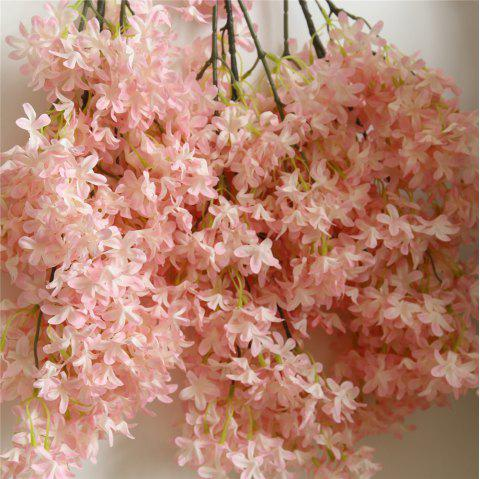 Home Wall Artificial Flower Decorations for Wedding Party - LIGHT PINK